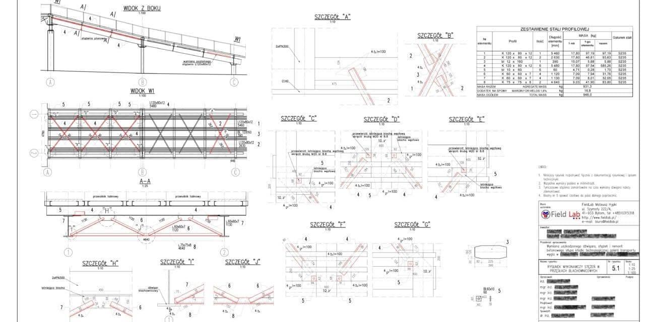 Górażdże - Projekt budowlano - wykonawczy - STEZENIA-5_1-1