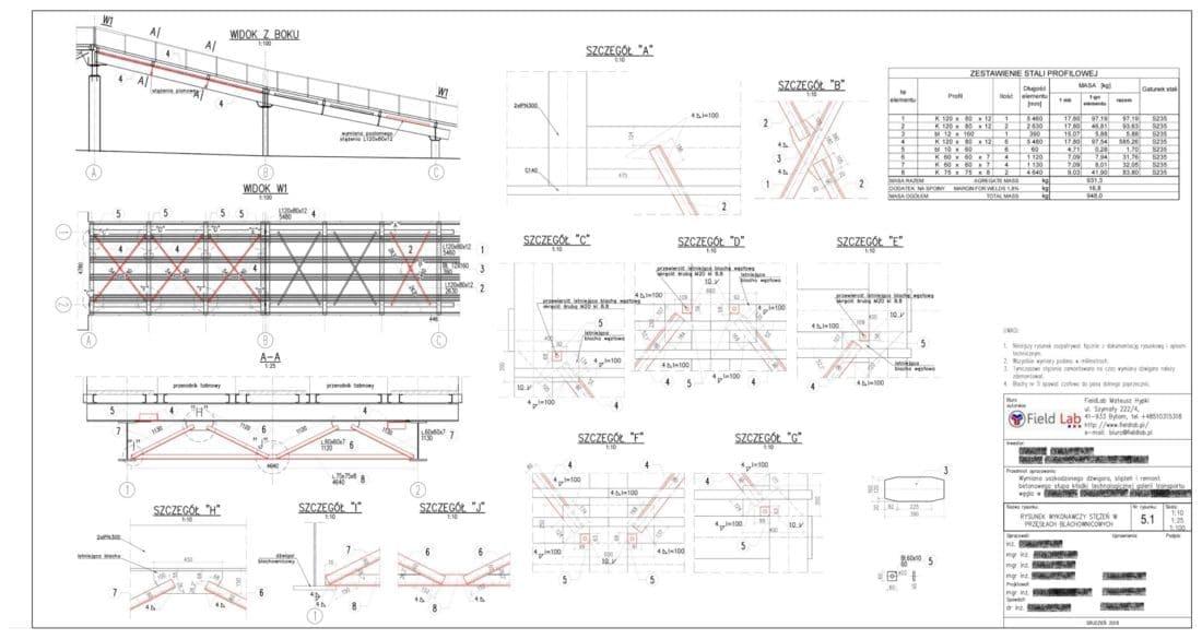 Górażdże Projekt budowlano wykonawczy STEZENIA 5 1 1 e1582553704823