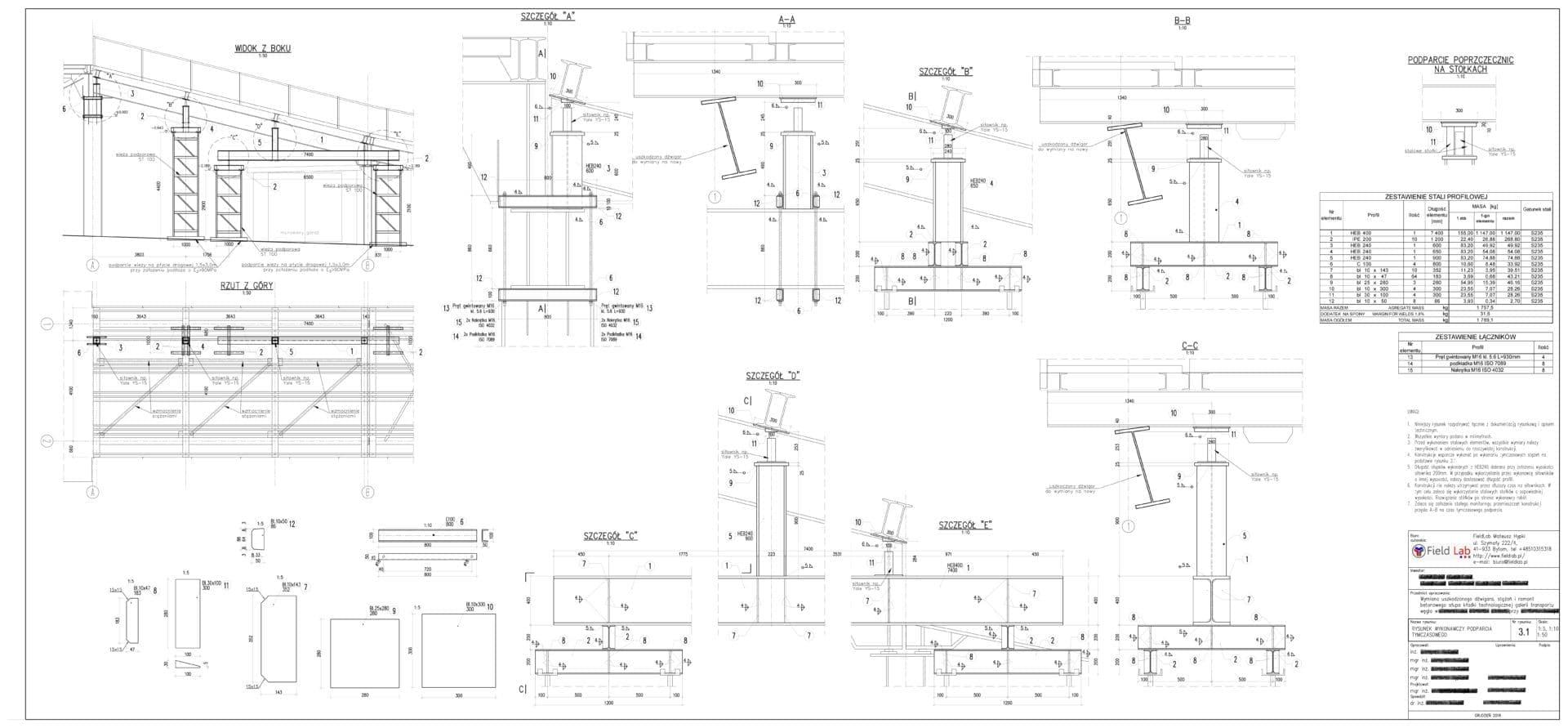 Górażdże Projekt budowlano wykonawczy rusztowanie podporowe 3 1 1 e1582546956883